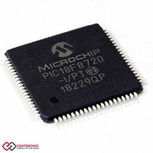 میکروکنترلر PIC18F8720-I/PT