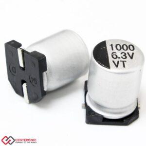 خازن الکترولیت 1000uF 6.3v