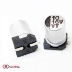 خازن الکترولیت 10uF 16v