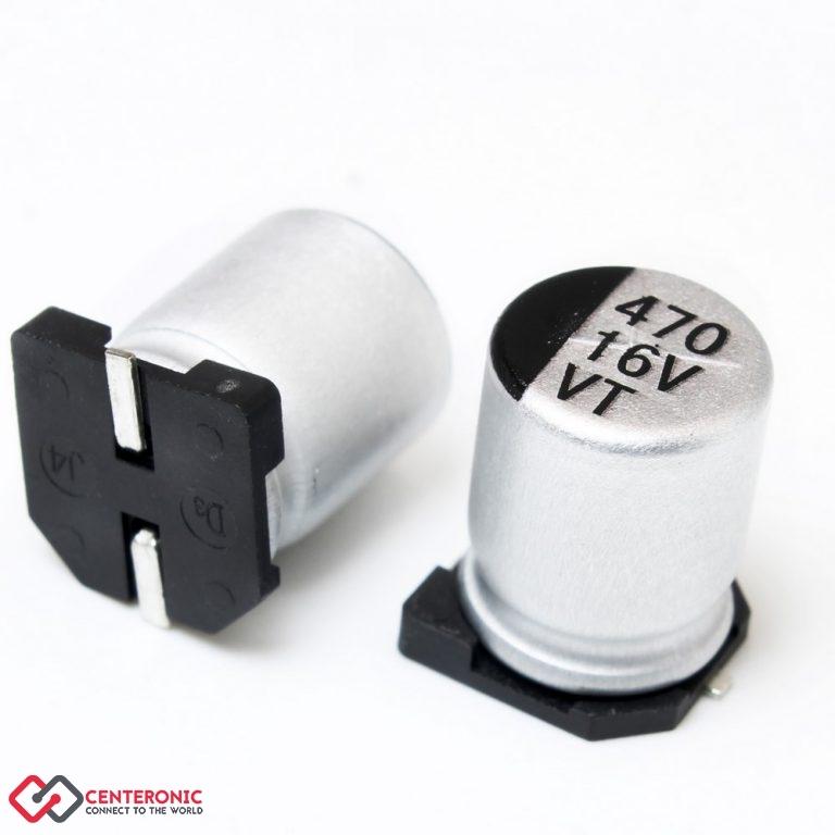 خازن الکترولیت 470uF 16v