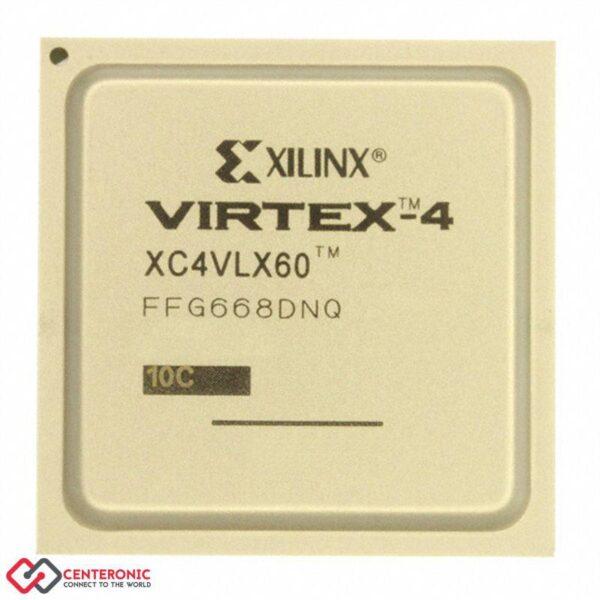 آی سی FPGA مدل XC4VLX60-10FFG668C